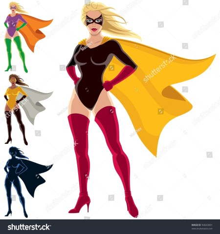 Clipart Superhero Cape