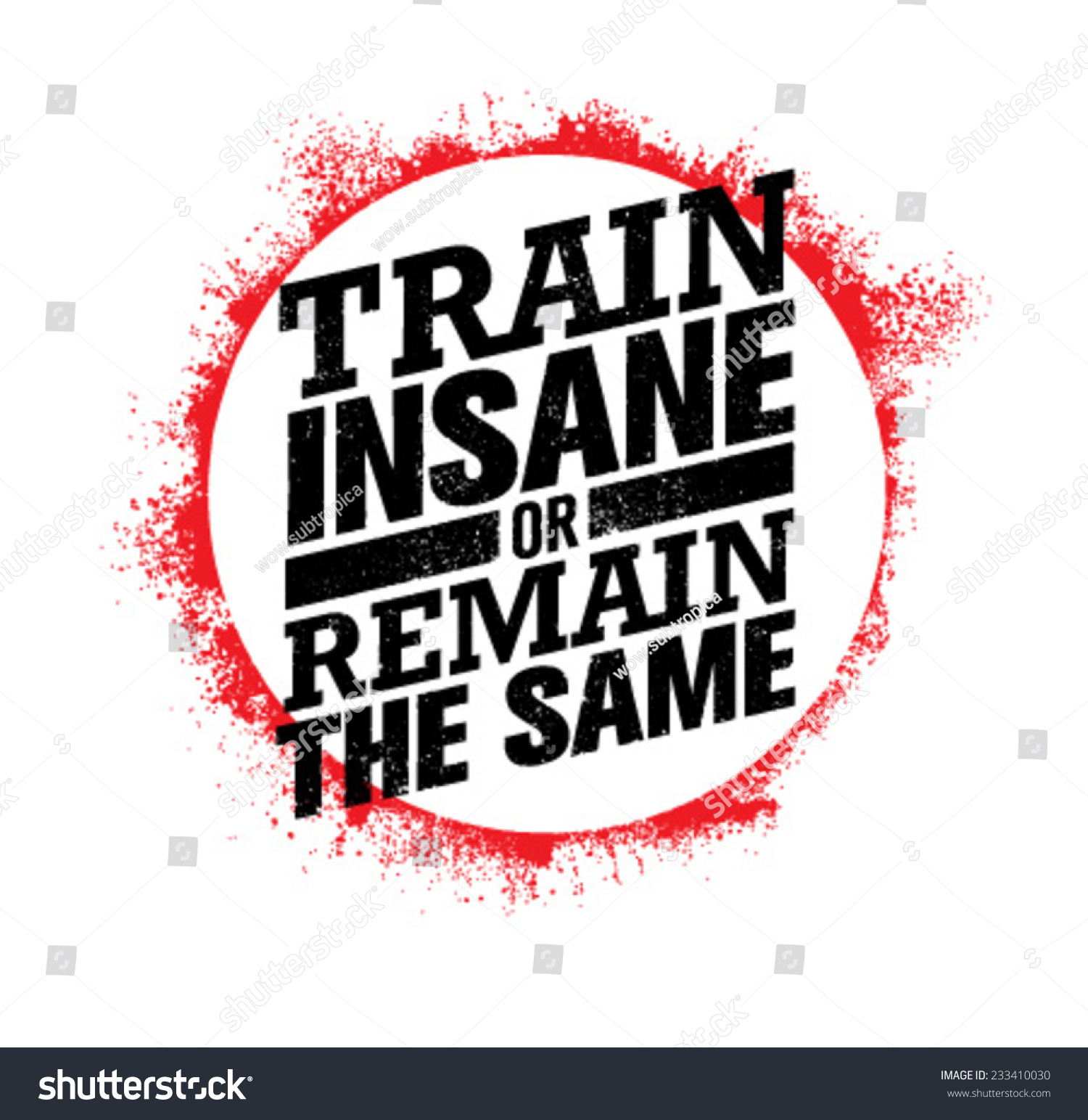 Weight Lifting Wallpaper Iphone Train Insane Remain Same Workout Fitness Stock Vector