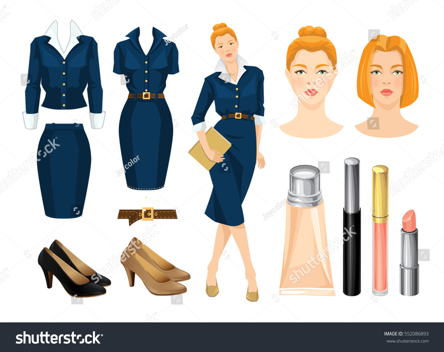 Dress code freestyle - Download Vector Illustration Of Corporate Dress Code