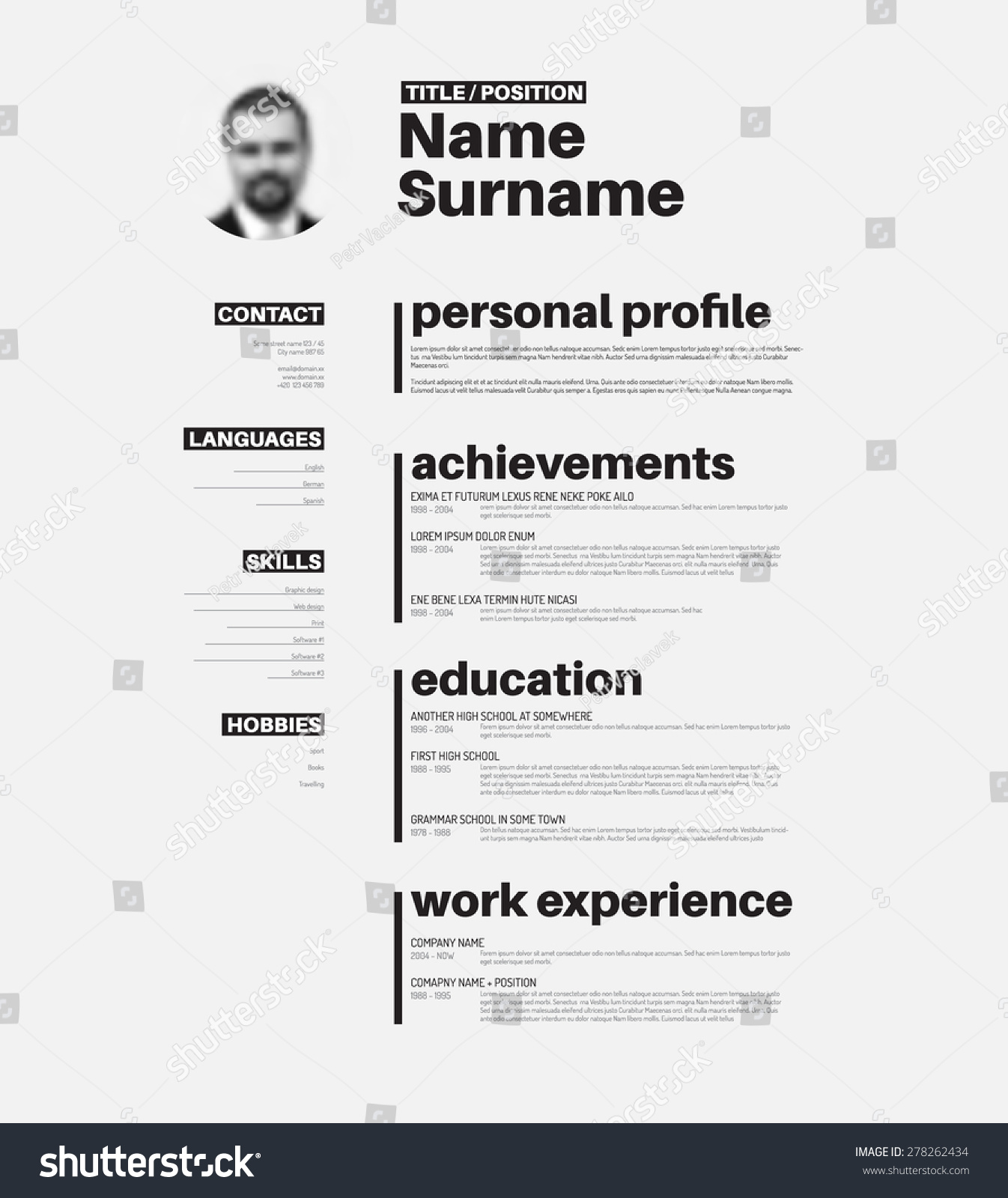 how to create nice resume create curriculum vitae or resume online easily pdfcv vector mini st