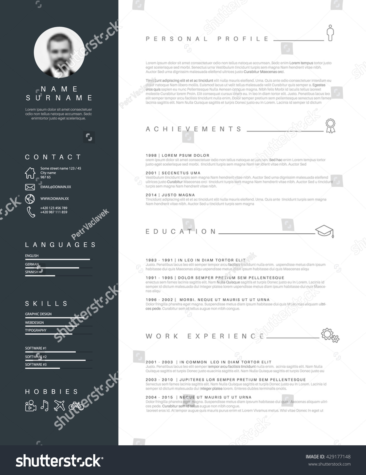 100 [ Cv Template For Sales ]