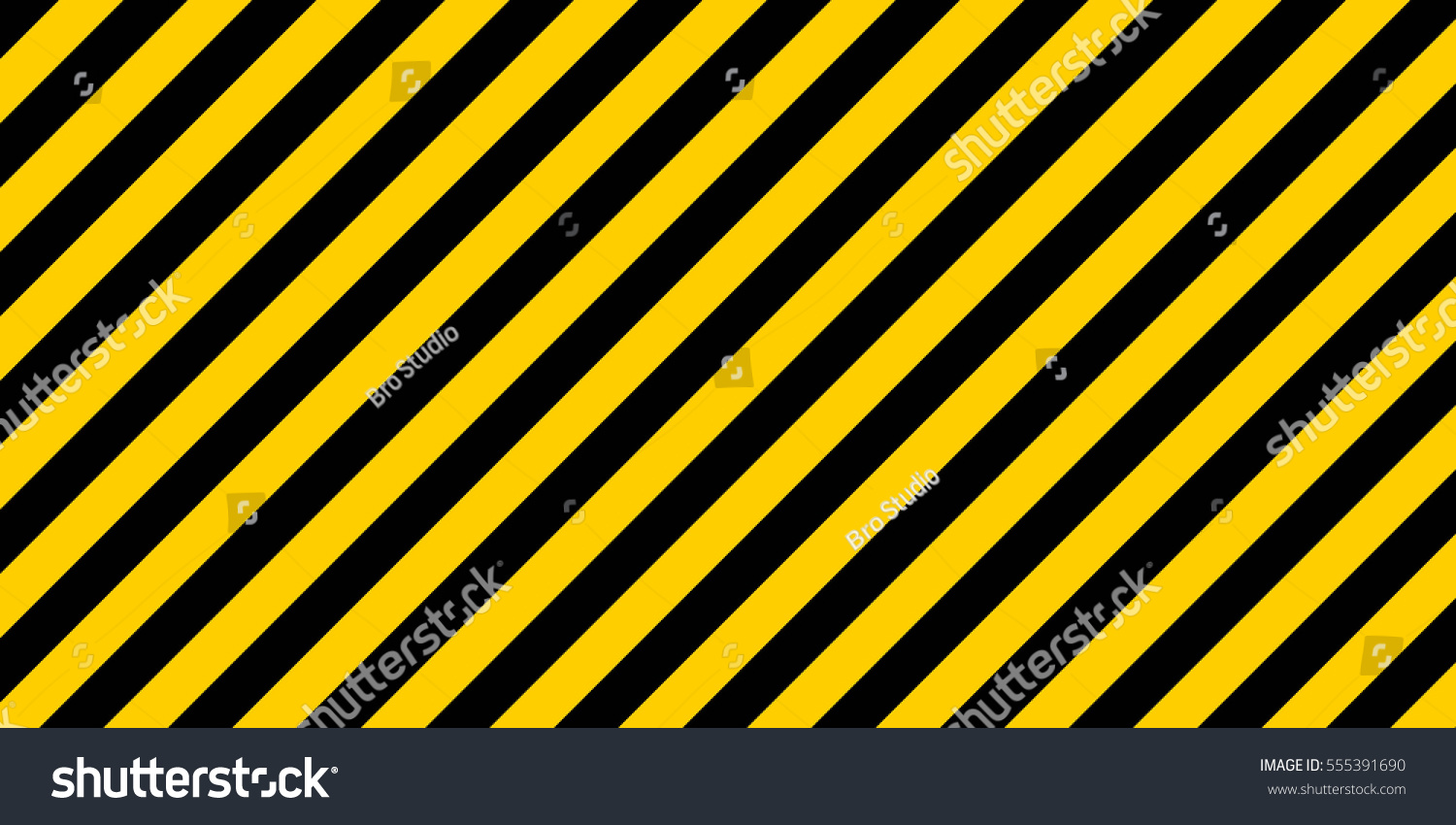 Border frame with black and yellow stripe on white background - Border Frame With Black And Yellow Stripe On White Background Warning Striped Rectangular Background Yellow Download
