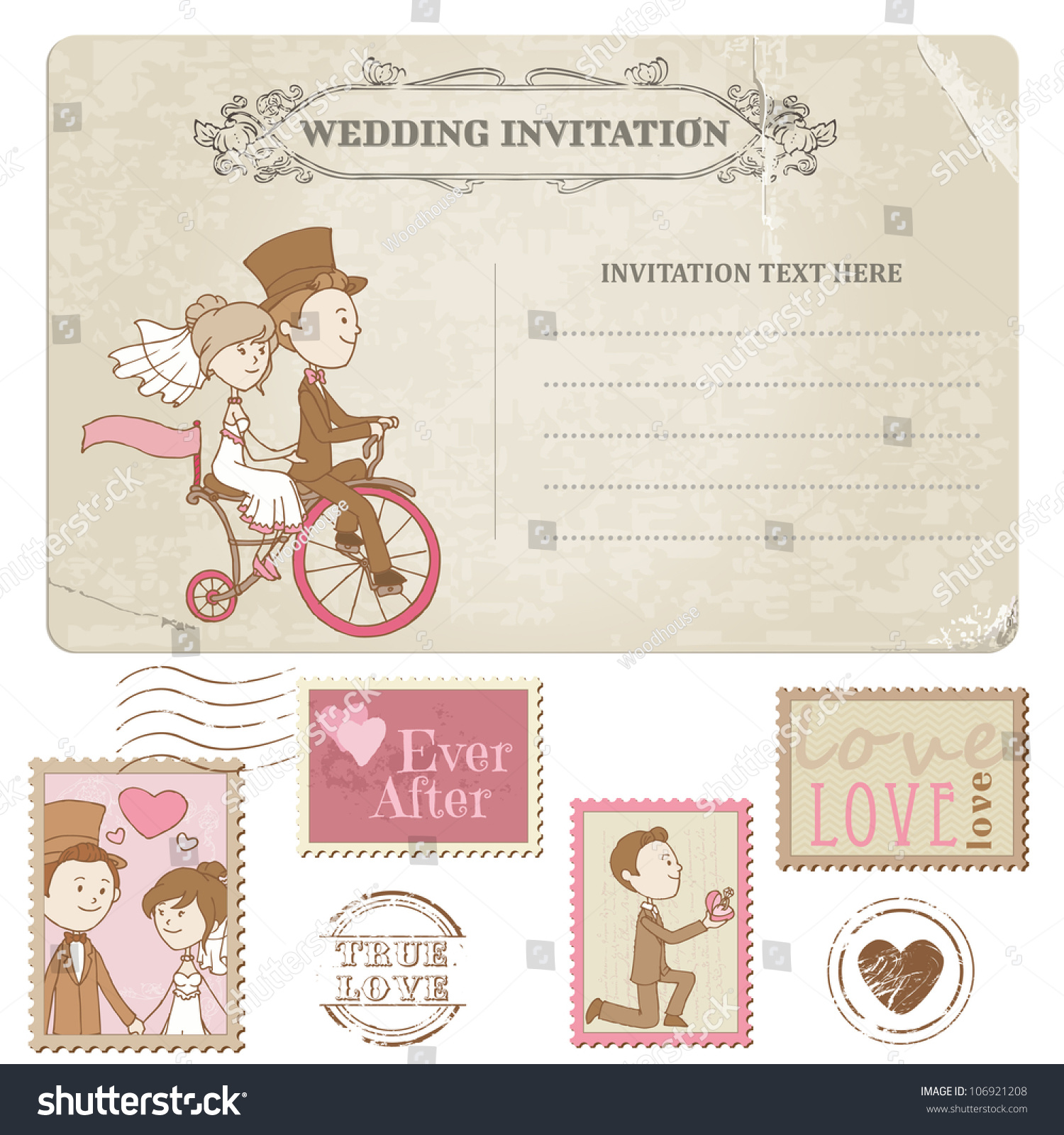 postage stamps for wedding invitations wedding postage stamps Stamps For Wedding Invitations All About Invitation And