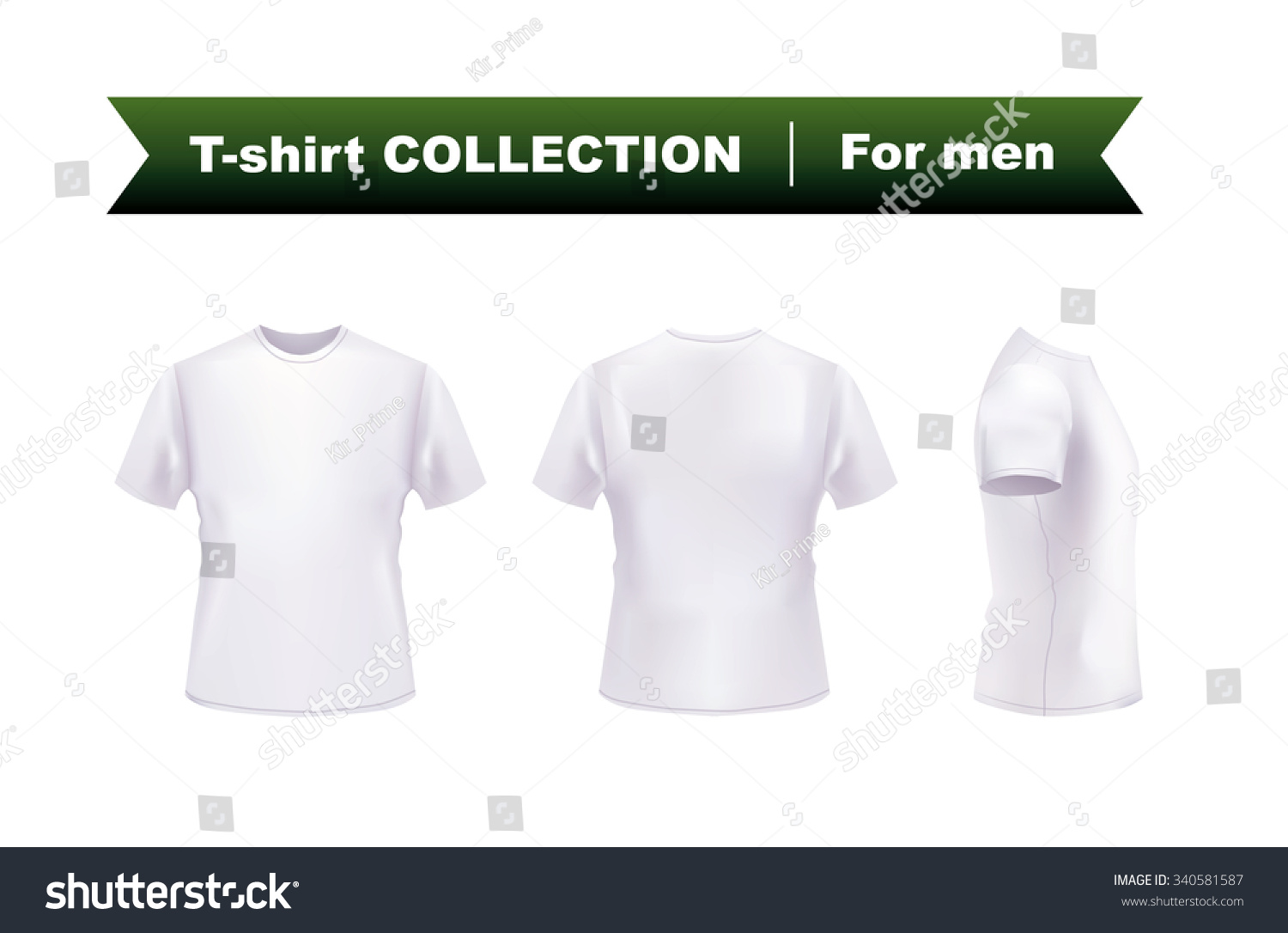 White t shirt eps - Female Tshirt Template Front And Back Stock Vector Art 474901733