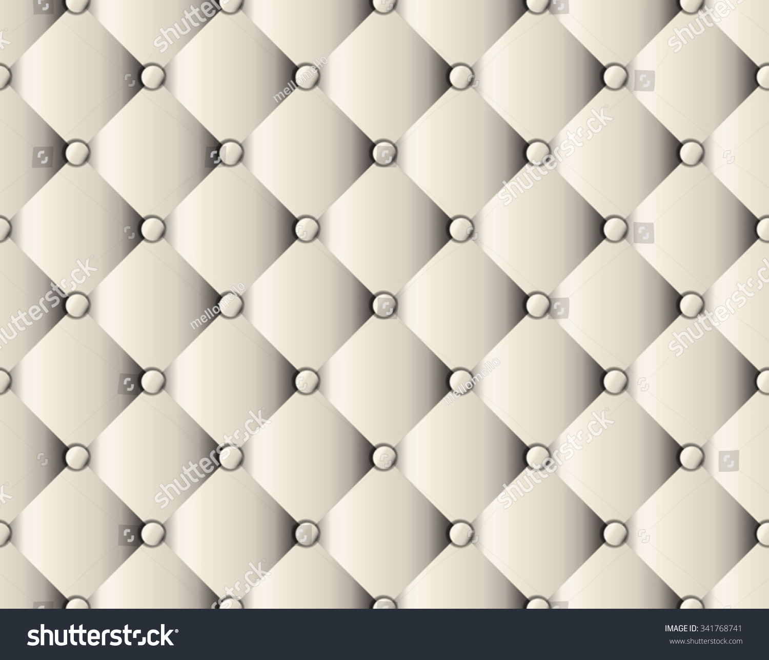 Sofa Texture Vector White Upholstery Sofa Texture Pattern Background Stock Vector