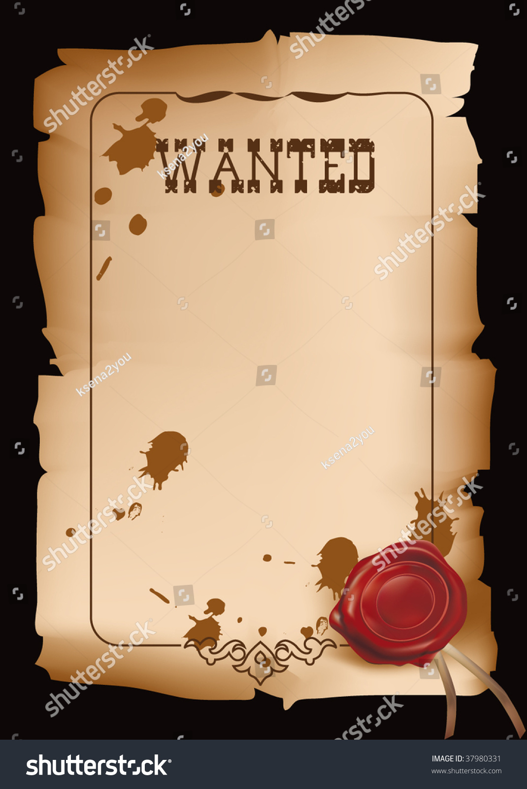 Doc450633 Most Wanted Poster Template 19 FREE Wanted Poster – Wanted Poster Free Template