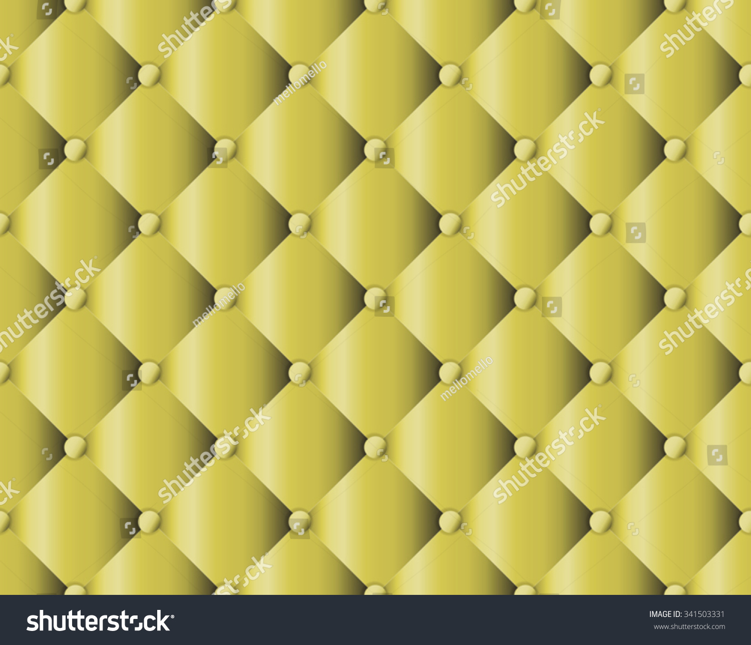 Sofa Texture Vector Yellow Upholstery Sofa Texture Pattern Background Stock Vector