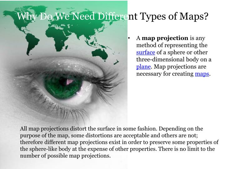 PPT - Geography and the Wonderful World of Maps and Map Projections