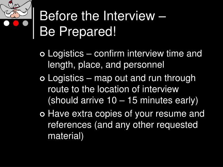PPT - Interviewing Skills PowerPoint Presentation - ID119598