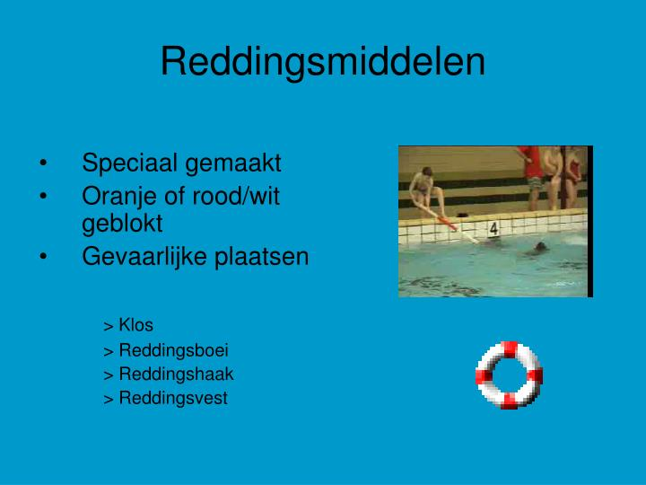 Rood Wit Touw Ppt - Reddingsbrigade Powerpoint Presentation - Id:1307999