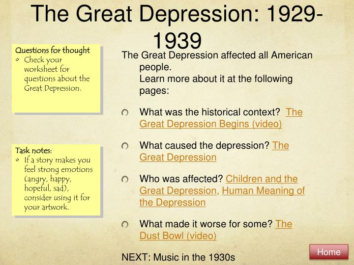 The great depression 1929 1939 essay College paper Academic Service - essays about the great depression