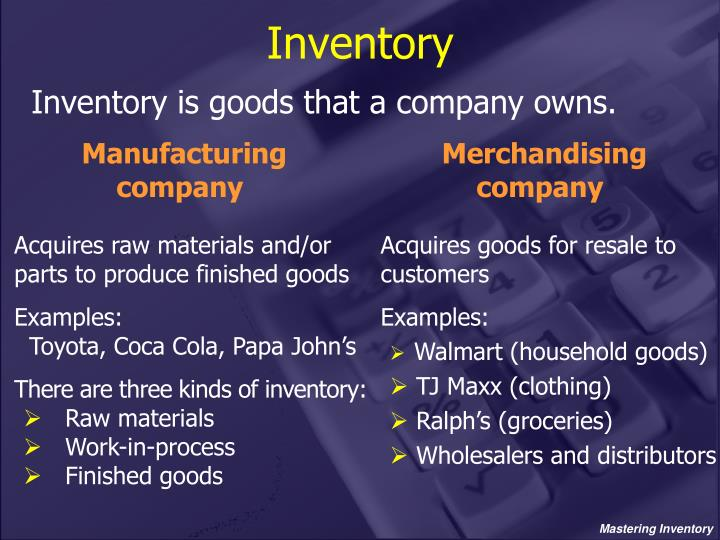 PPT - Mastering Inventory PowerPoint Presentation - ID1394796
