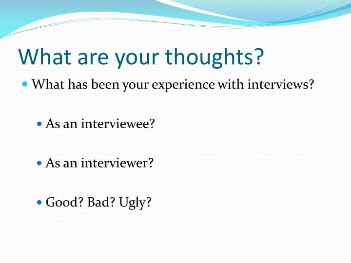 PPT - Behavioral Based Interviewing PowerPoint Presentation - ID1413697