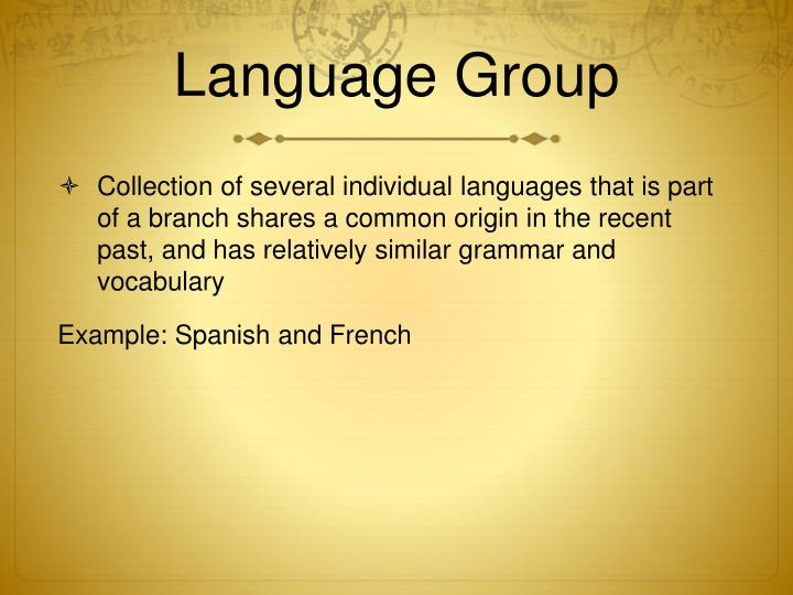 PPT - Chapter 5 LANGUAGE PowerPoint Presentation - ID1460487