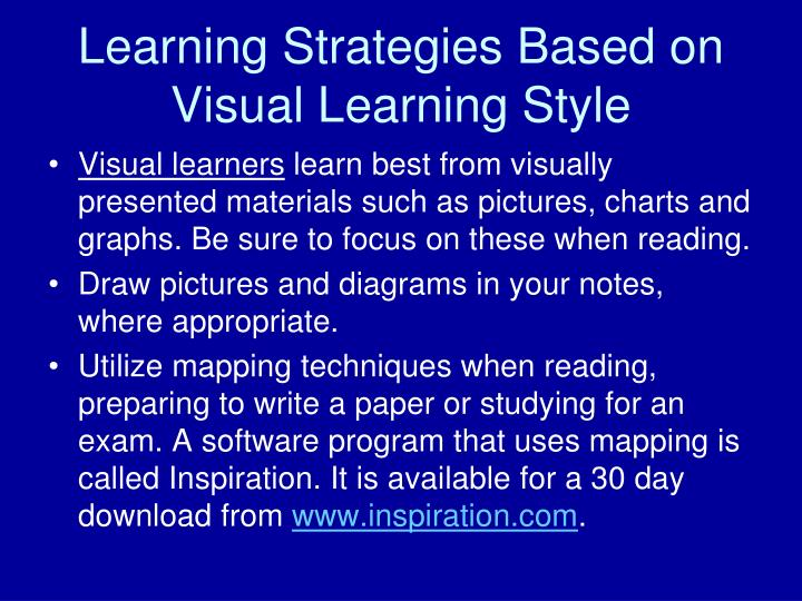 PPT - The Importance of Knowing Your Learning Style PowerPoint