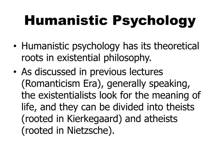 PPT - Humanistic Psychology PowerPoint Presentation - ID1490850