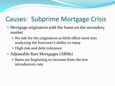PPT - Current Issue: Financial Crisis and Credit Crunch PowerPoint Presentation - ID:203102