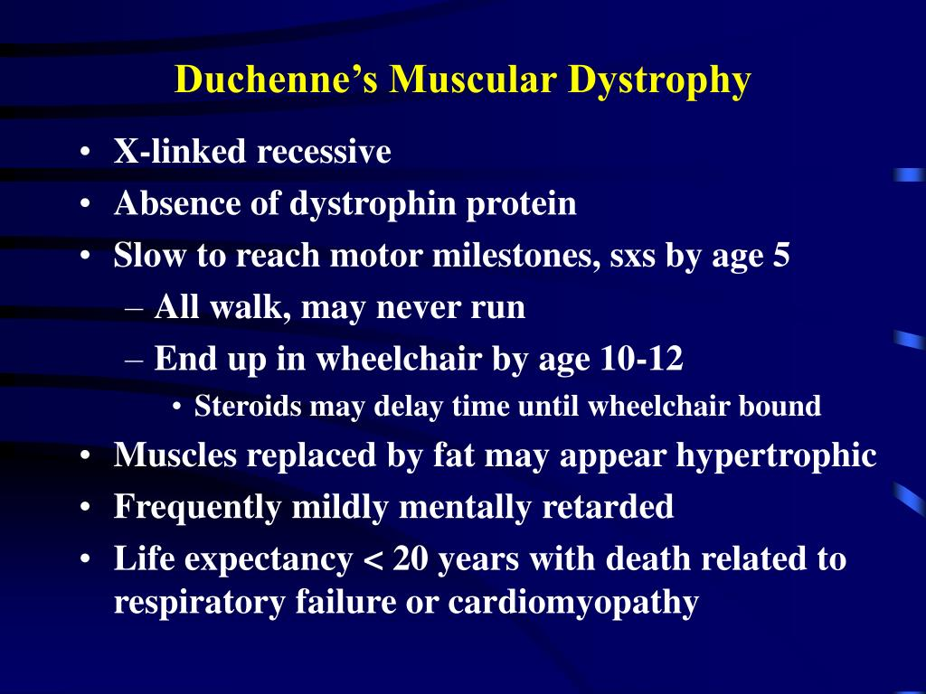 Duchenne Muscular Dystrophy Symptoms Management And Prognosis Ppt Neuromuscular Disease Powerpoint Presentation Id
