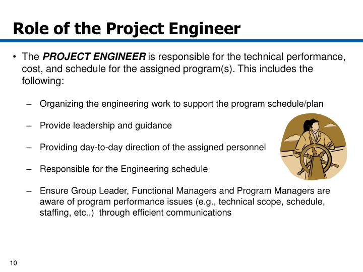 PPT - Project Engineer Responsibility and Applications October 15