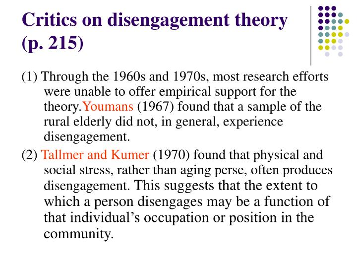 PPT - Sociological Theories of Aging (1) PowerPoint Presentation