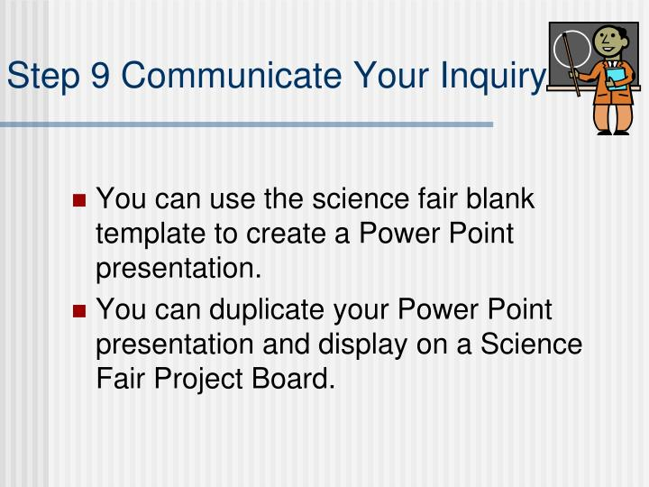 science fair display board templates - Towerssconstruction