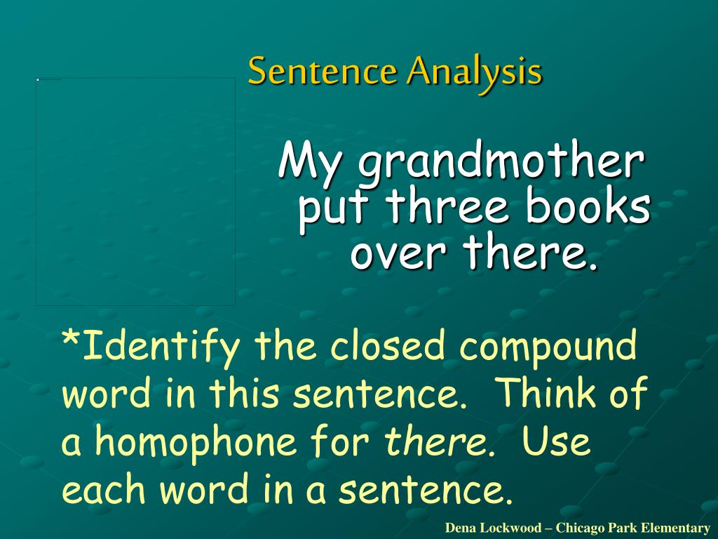 Chromosome In A Sentence Ppt The West Side By Peggy Mann Powerpoint Presentation