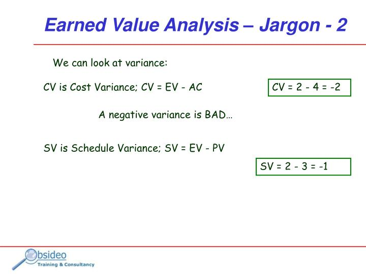 PPT - Earned Value Analysis PowerPoint Presentation - ID292895