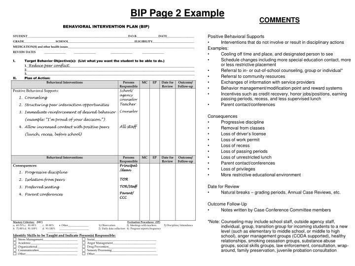 PPT - Functional Behavioral Assessment (FBA) Behavioral Intervention