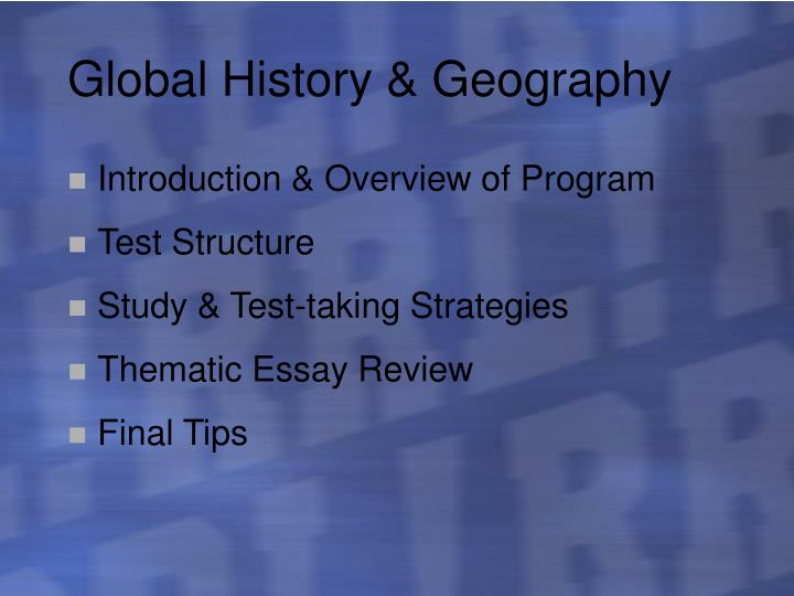 PPT - Global History and Geography Regents 2005 PowerPoint