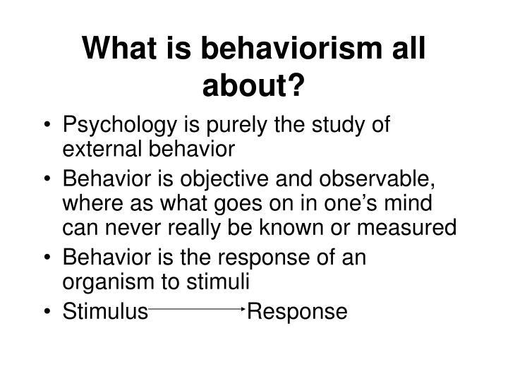 PPT - Behaviorism PowerPoint Presentation - ID367170