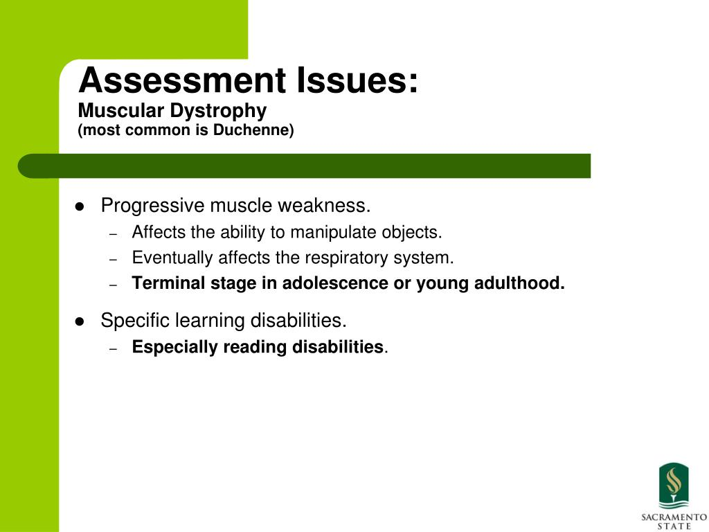 Delayed Diagnosis Of Duchenne Muscular Dystrophy Ppt Assessment Of Children Who Are Severely
