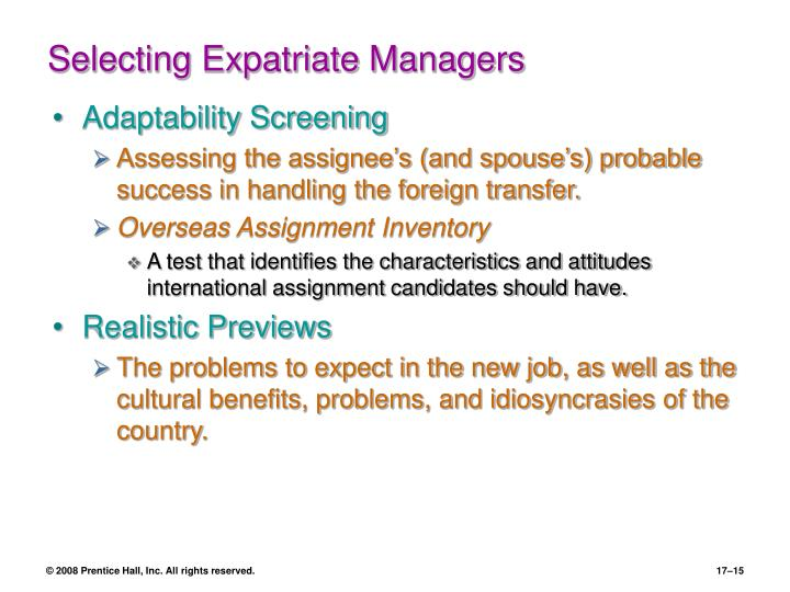 PPT - Managing Global Human Resources PowerPoint Presentation - ID