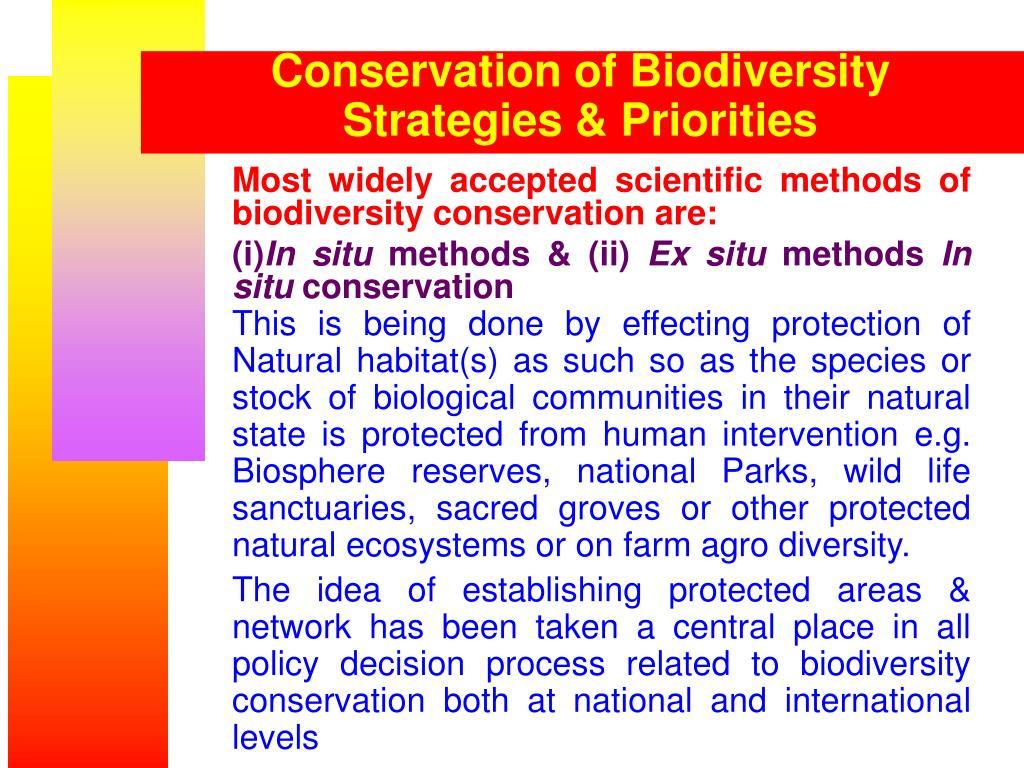 Biodiversity Conservation Strategy In Bangladesh