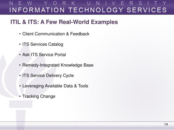 PPT - ITIL in the Real World  Leveraging ITIL Best Practices for