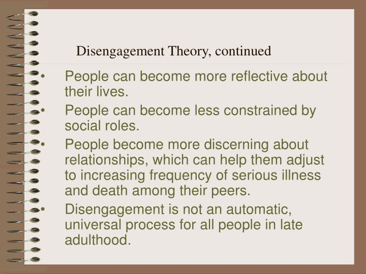 PPT - Chapter 18 Late Adulthood Social and Personality Development