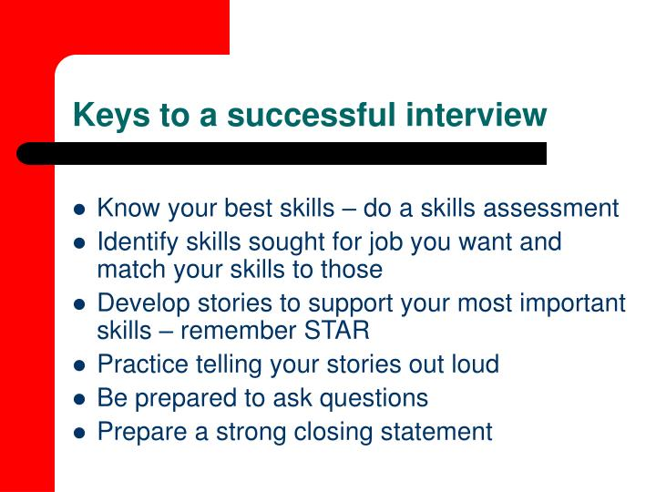 PPT - Behavioral Interviewing PowerPoint Presentation - ID475756