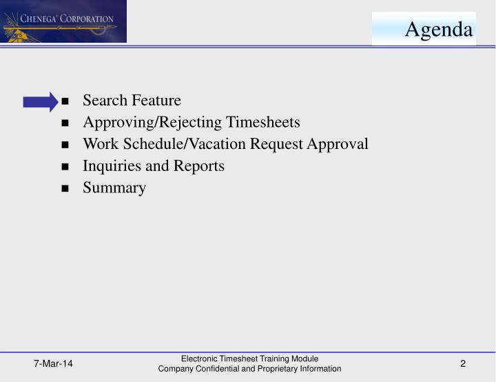 PPT - Electronic Time Sheet Training Guide for Supervisors/Managers