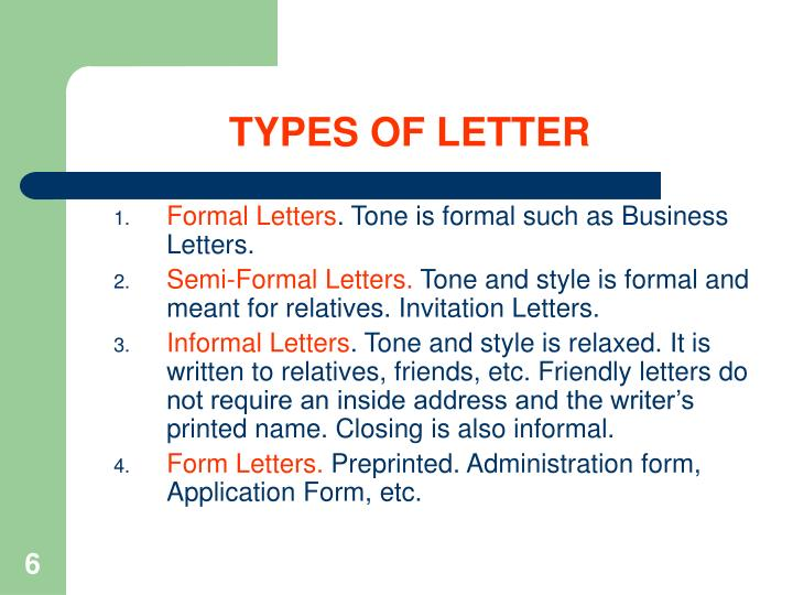 PPT - BUSINESS LETTER WRITING PowerPoint Presentation - ID512407