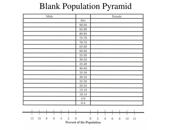 PPT - Blank Population Pyramid PowerPoint Presentation - ID626095 - blank pyramid template