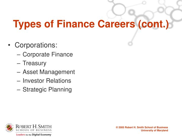 PPT - Pursuing a Career in Finance PowerPoint Presentation - ID6272