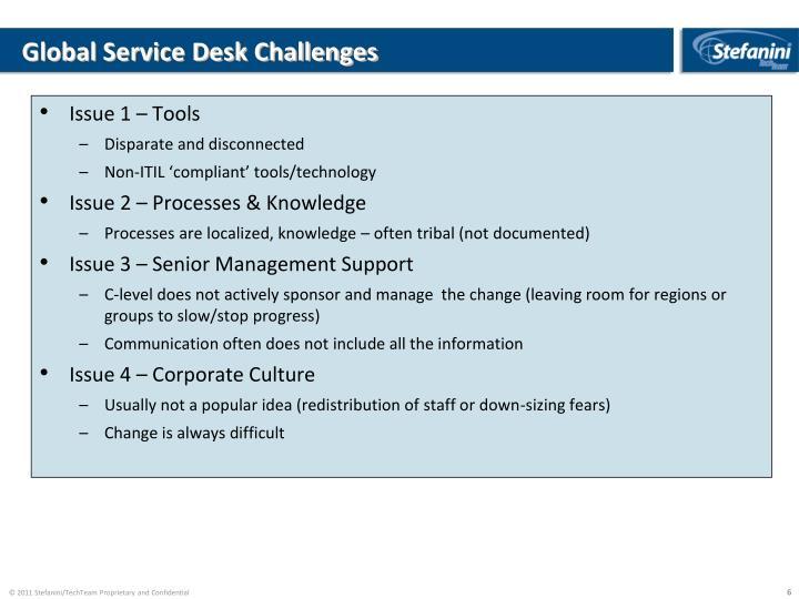 PPT - Global IT Helpdesk Transformation PowerPoint Presentation - ID