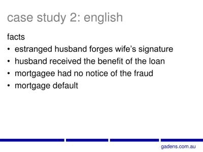PPT - Impact of Fraud on Mortgage Enforcement PowerPoint Presentation - ID:662037