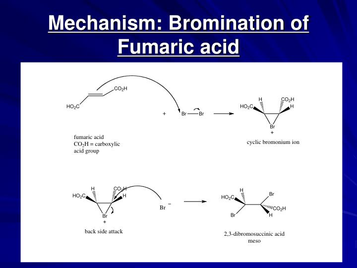 PPT - Reactions of Alkenes 1 Miniscale Synthesis Bromination of