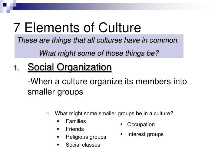 PPT - Culture PowerPoint Presentation - ID710087
