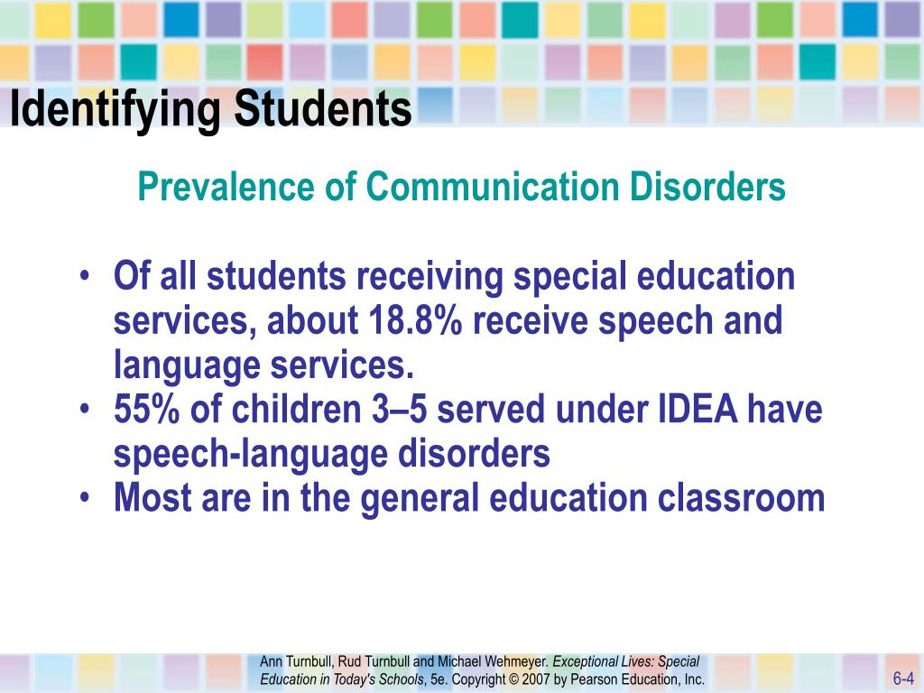 Prevalence Language Disorders Ppt Chapter 6 Powerpoint Presentation Id 746240