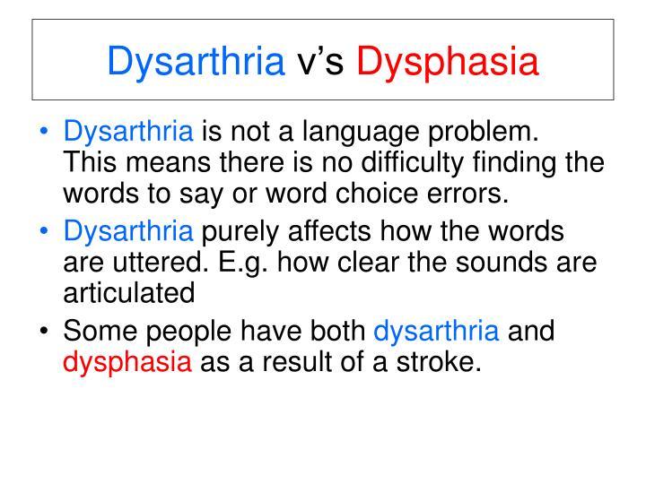 PPT - Dysarthria PowerPoint Presentation - ID780866