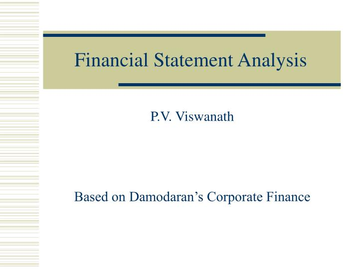 Financial statement analysis for microsoft corporation Essay Service