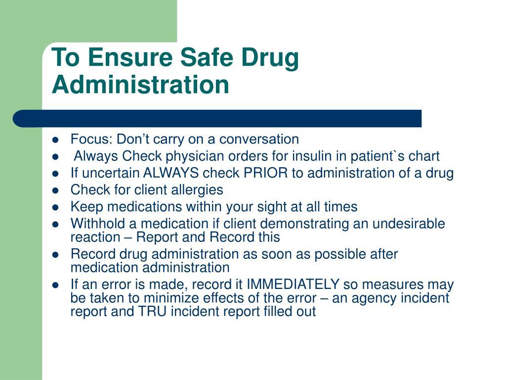 medication incident report