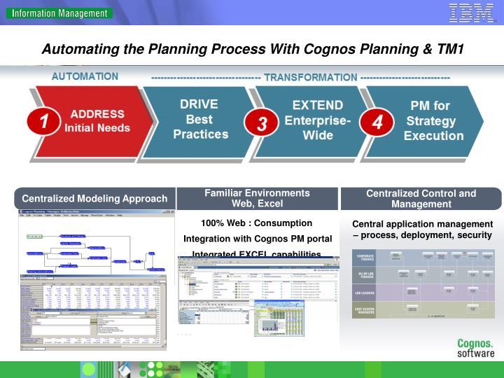 Cognos Enterprise Planning Resume