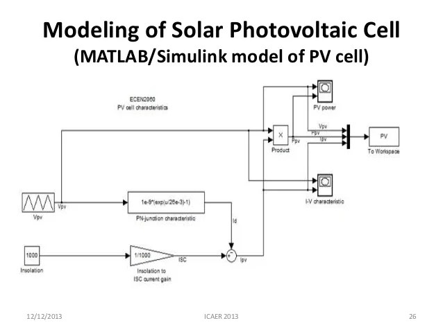 photovoltaic solar cell current to voltage converter